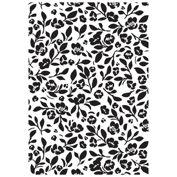 Kaisercraft TINY FLORAL Embossing Folder 4x6 Inches EF250