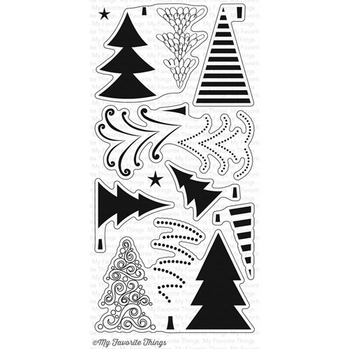 My Favorite Things OH CHRISTMAS TREES Clear Stamps CS149 Preview Image