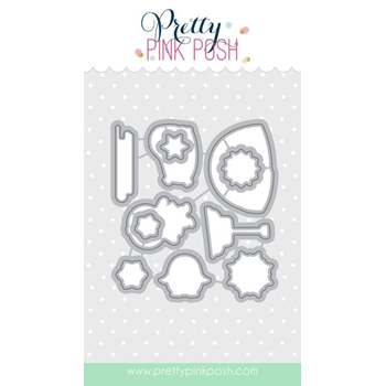 Pretty Pink Posh WINTER WONDERLAND COORDINATING DIE Set