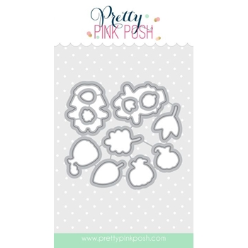 Pretty Pink Posh GIVING THANKS COORDINATING DIE Set