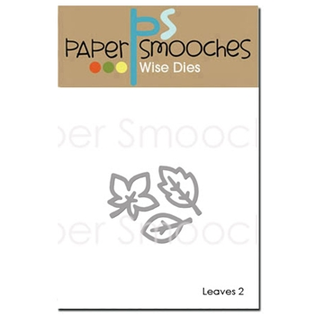 Paper Smooches LEAVES 2 Wise Dies OCD350