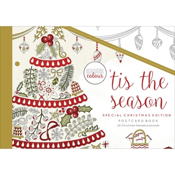 Kaisercraft Colour 'TIS THE SEASON Postcard Book CL594