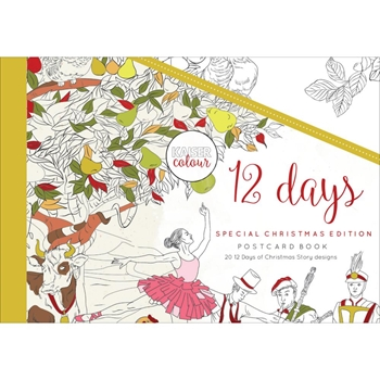 Kaisercraft Colour 12 DAYS Postcard Book CL595