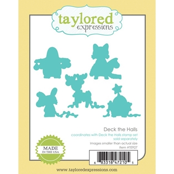 Taylored Expressions DECK THE HALLS DIE Set TE927