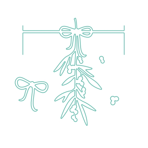Concord & 9th MISTLETOE CARD FRAME ADD-ON Dies 10133C9 Preview Image