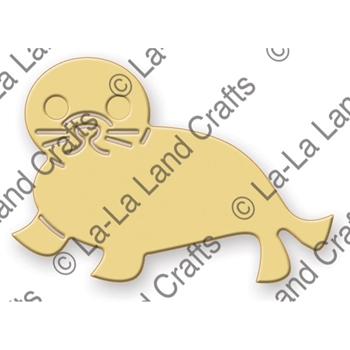 La-La Land Crafts BABY SEAL Die Set 8245