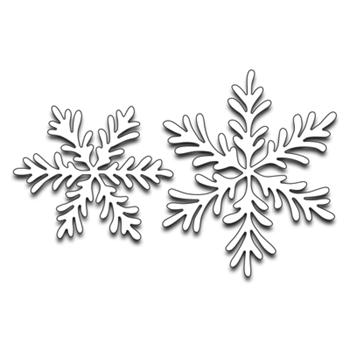 Penny Black SNOWFLAKE DUO Thin Metal Creative Dies 51-274