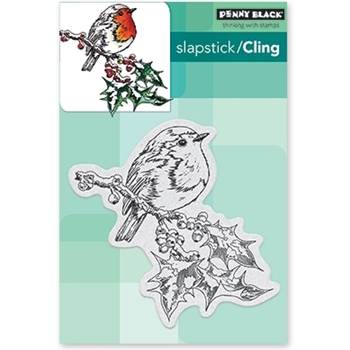 Penny Black Cling Stamp OVERJOYED 40-488