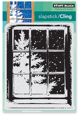 Penny Black Cling Stamp FROSTY DAY 40-483 zoom image
