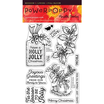 Power Poppy HOLLY GOLIGHTLY Clear Stamp Set PPOCT1602