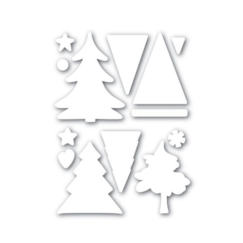 Simon Says Stamp COLOR ME TREES Wafer Die SSSD111631 Believe In The Season Preview Image