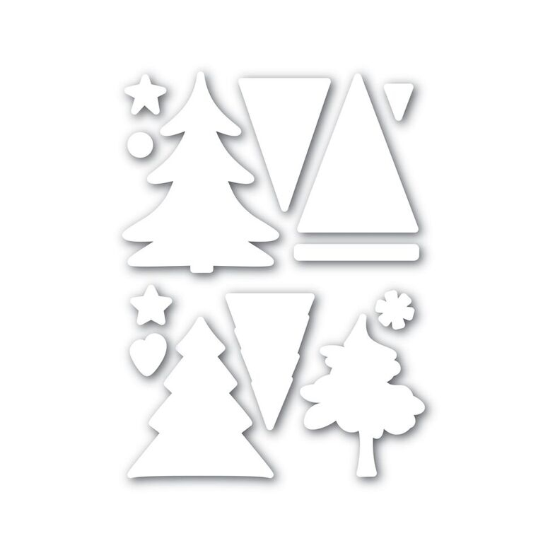 Simon Says Stamp COLOR ME TREES Wafer Die SSSD111631 Believe In The Season zoom image