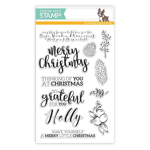 Simon Says Clear Stamps CHRISTMAS ESSENTIALS SSS101664 Believe In The Season Preview Image