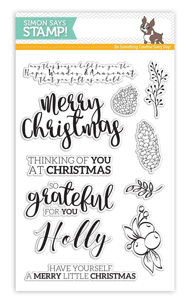 Simon Says Clear Stamps CHRISTMAS ESSENTIALS SSS101664 Believe In The Season zoom image