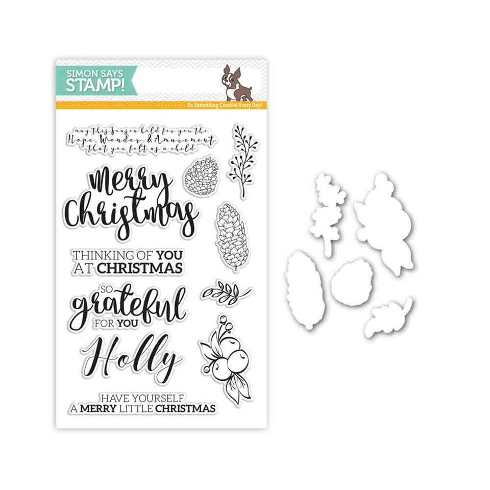 Simon Says Stamps And Dies CHRISTMAS ESSENTIALS Set285CE Believe In The Season zoom image