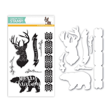 Simon Says Stamps And Dies MAGICAL CHRISTMAS Set280MC Believe In The Season