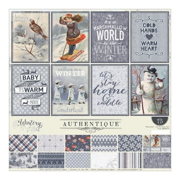 Authentique WINTERY 12 x 12 Collection Kit WIN010