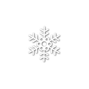 Simon Says Stamp AUBREY SNOWFLAKE Wafer Die SSSD111636 Believe In The Season