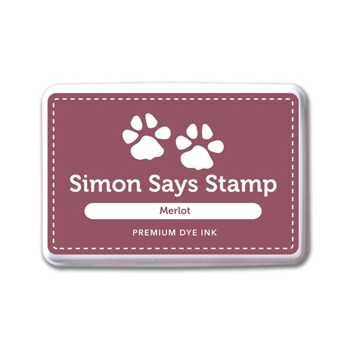 Simon Says Stamp Premium Dye Ink Pad MERLOT INK074 Believe In The Season Preview Image