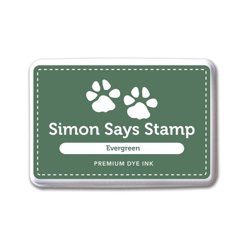 Simon Says Stamp Premium Dye Ink Pad EVERGREEN INK076 Believe In The Season Preview Image