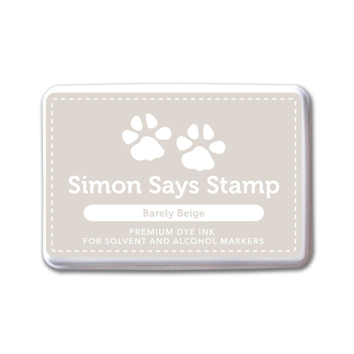 Simon Says Stamp Premium Ink Pad BARELY BEIGE INK072 Believe In The Season Preview Image