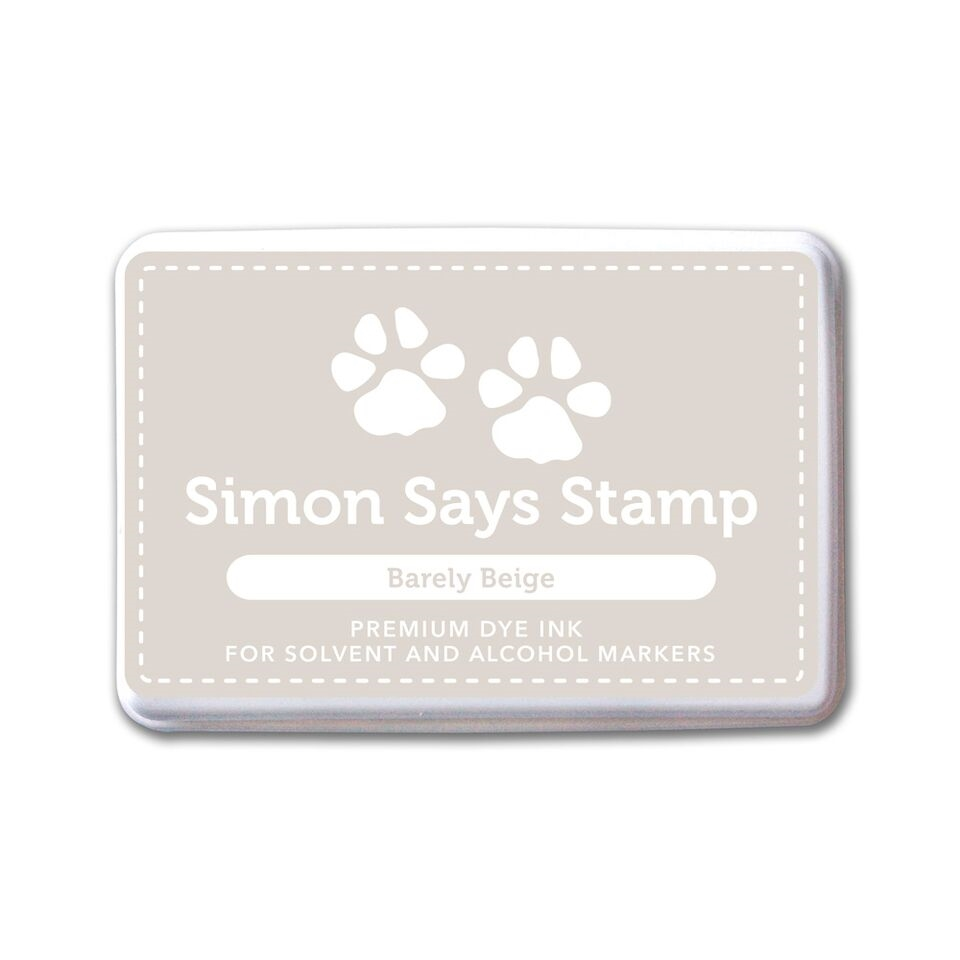 Simon Says Stamp Dye Ink Pad BARELY BEIGE
