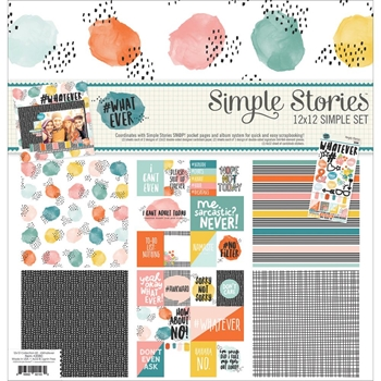 Simple Stories WHATEVER 12 x 12 Collection Kit 2080