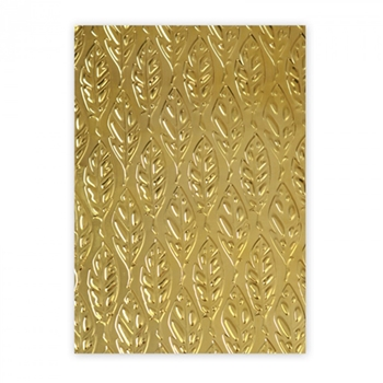 Sizzix Textured Impressions FEATHERS 3D Embossing Folder 661257