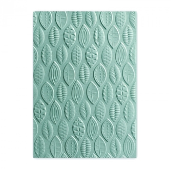 Sizzix Textured Impressions LEAVES 3D Embossing Folder 661260