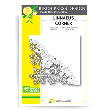 Birch Press Design LINNAEUS CORNER Craft Die 57026