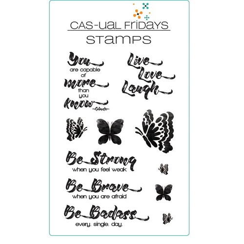CAS-ual Fridays BE Clear Stamps CFS1619 Preview Image