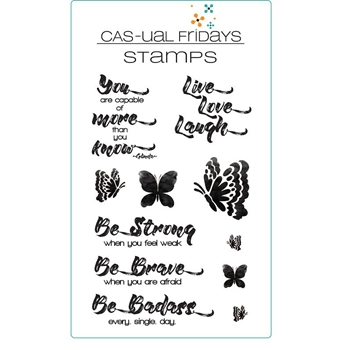 CAS-ual Fridays BE Clear Stamps CFS1619