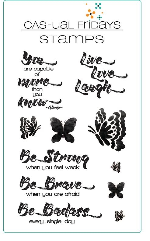 CAS-ual Fridays BE Clear Stamps CFS1619 zoom image