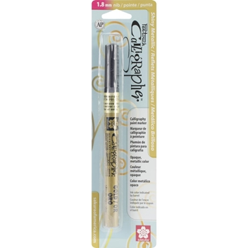 Sakura GOLD METALLIC Pen Touch 1.8 Calligraphy Marker 47381