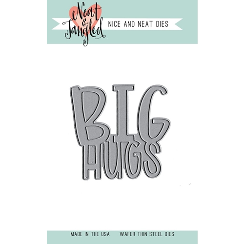 Neat and Tangled BIG HUGS Die Preview Image
