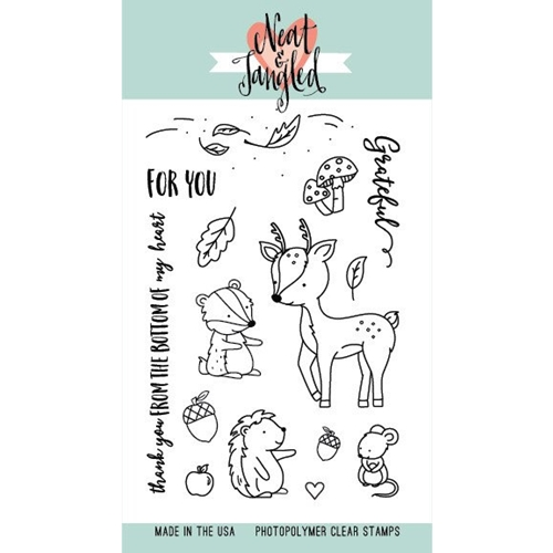 Neat and Tangled INTO THE WOODS Clear Stamp Set NAT212 Preview Image