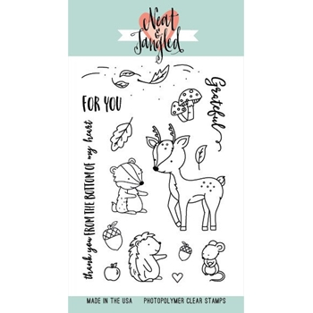 Neat and Tangled INTO THE WOODS Clear Stamp Set