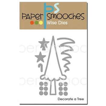 Paper Smooches DECORATE A TREE Wise Dies NOD352