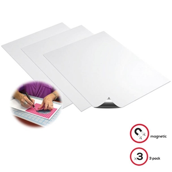 Deflecto MAGNETIC 8x15 SHEETS 3 Pack 5901