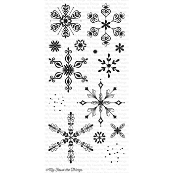 My Favorite Things SIMPLY SNOWFLAKES Clear Stamps CS146