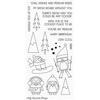 My Favorite Things CHILL WISHES Clear Stamps CS154