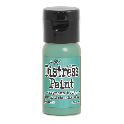 Tim Holtz Flip Top Distress Paint EVERGREEN BOUGH Ranger TDF53026 Preview Image