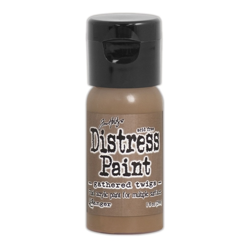 Tim Holtz Flip Top Distress Paint GATHERED TWIGS Ranger TDF53088 Preview Image