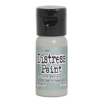 Tim Holtz Flip Top Distress Paint ICED SPRUCE Ranger TDF53095