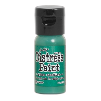 Tim Holtz Flip Top Distress Paint PINE NEEDLES Ranger TDF53187