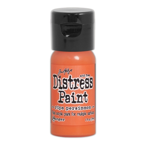 Tim Holtz Flip Top Distress Paint RIPE PERSIMMON Ranger TDF53200 Preview Image