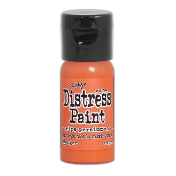 Tim Holtz Flip Top Distress Paint RIPE PERSIMMON Ranger TDF53200