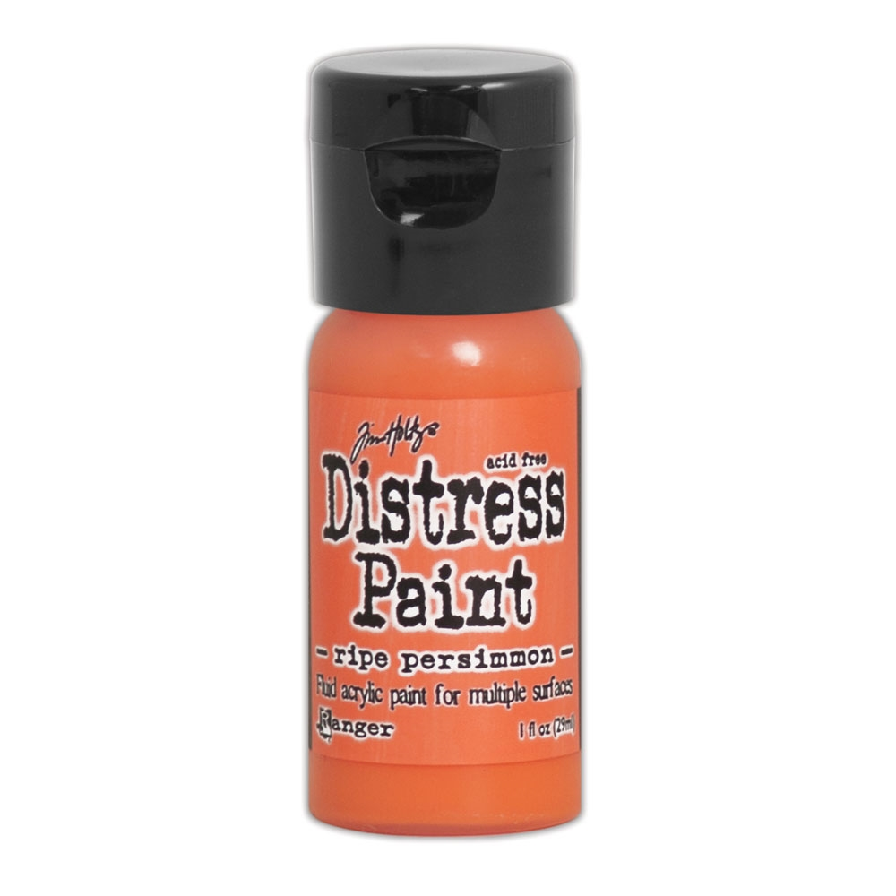 Tim Holtz Flip Top Distress Paint RIPE PERSIMMON Ranger TDF53200 zoom image