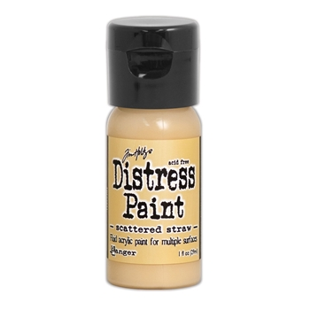 Tim Holtz Flip Top Distress Paint SCATTERED STRAW Ranger TDF53231