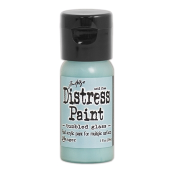 Tim Holtz Flip Top Distress Paint TUMBLED GLASS Ranger TDF53330